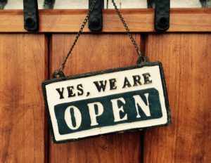 HPオープン!